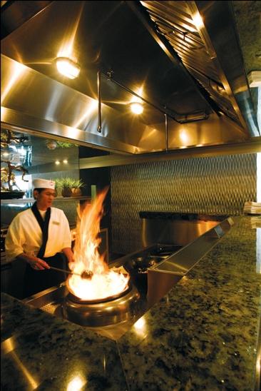 wok fire